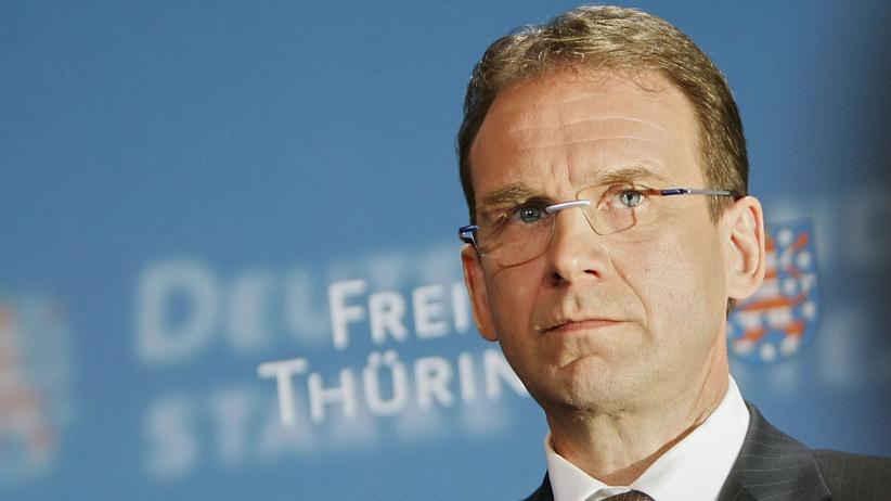 Thüringen: Dieter Althaus (CDU) ist offen für neue Bündnisse.
