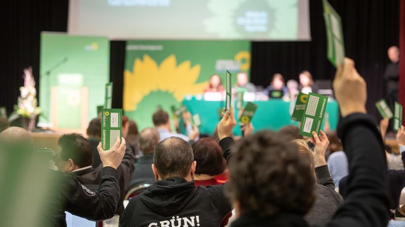 Thüringen: Landesdelegiertenkonferenz der Grünen in Thüringen.
