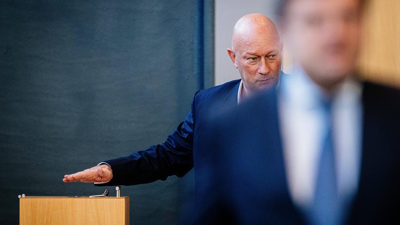 Ministerpräsidentenwahl: Der neue Thüringer Ministerpräsident Thomas Kemmerich