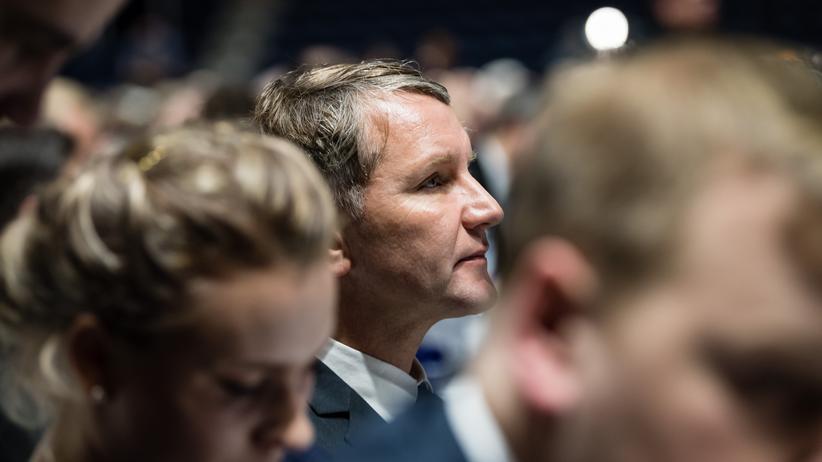 AfD: Björn Höcke, Fraktionsvorsitzender der AfD im Thüringer Landtag