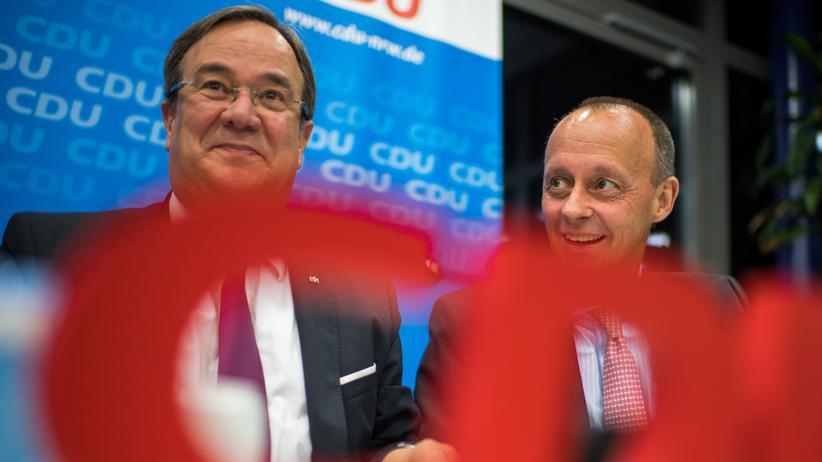 CDU-Vorsitz: Armin Laschet und Friedrich Merz: Beiden gelten als mögliche CDU-Vorsitzenden- und Kanzlerkandidaten.