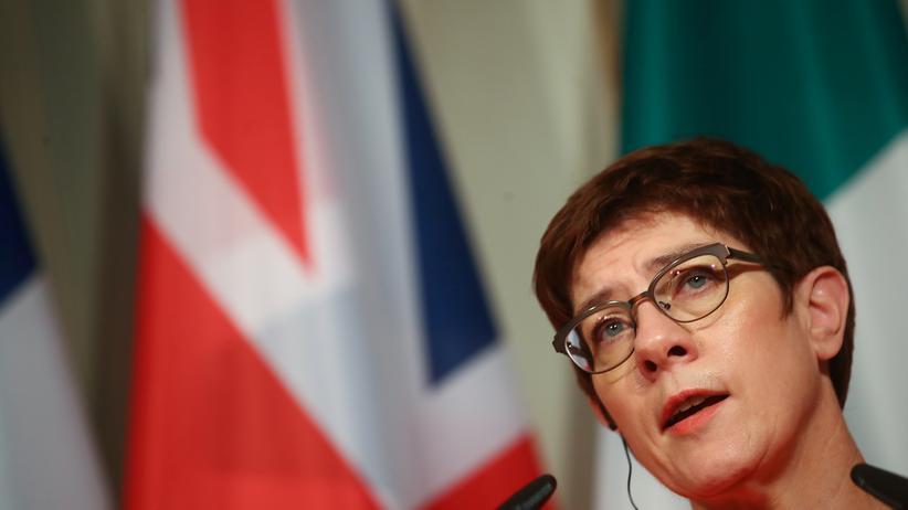 CDU-Spitze: Die scheidende CDU-Parteichefin Annegret Kramp-Karrenbauer