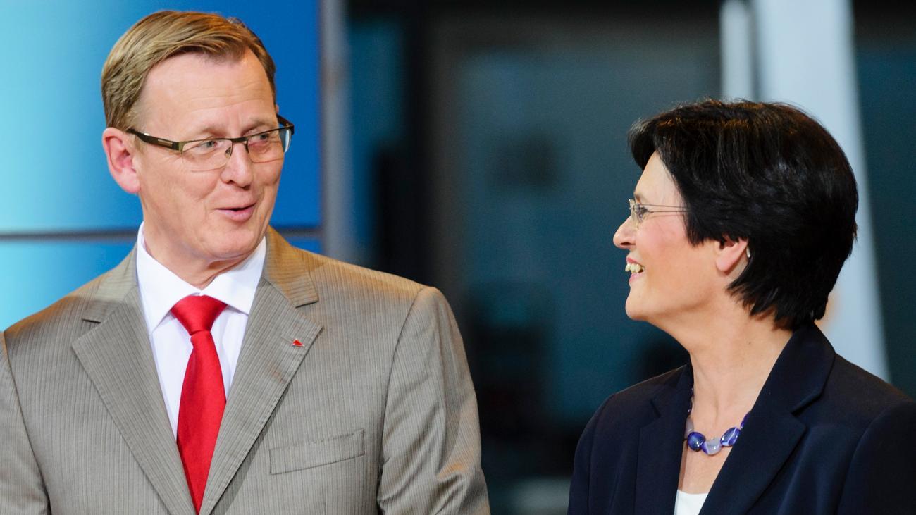 Thüringen: Bodo Ramelow schlägt Christine Lieberknecht als Regierungschefin vor