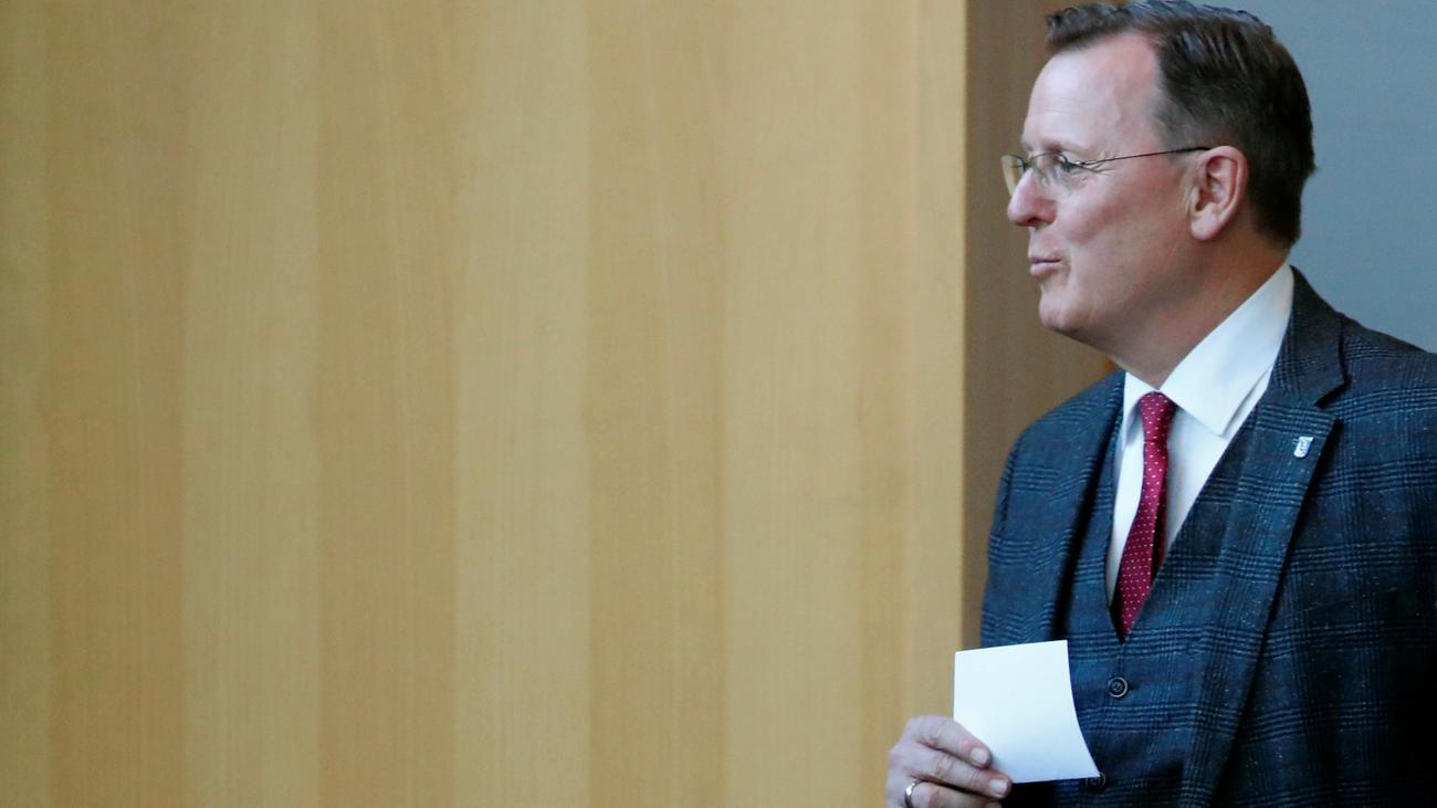 Ministerpräsident: Bodo Ramelow rechnet mit seiner Wiederwahl