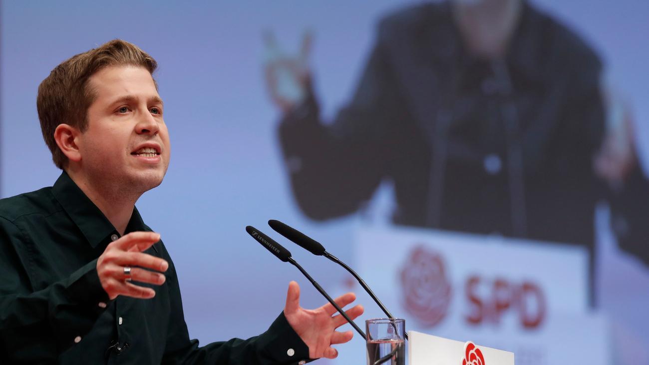 Thüringen: Kevin Kühnert fordert CDU zur Wahl Ramelows auf