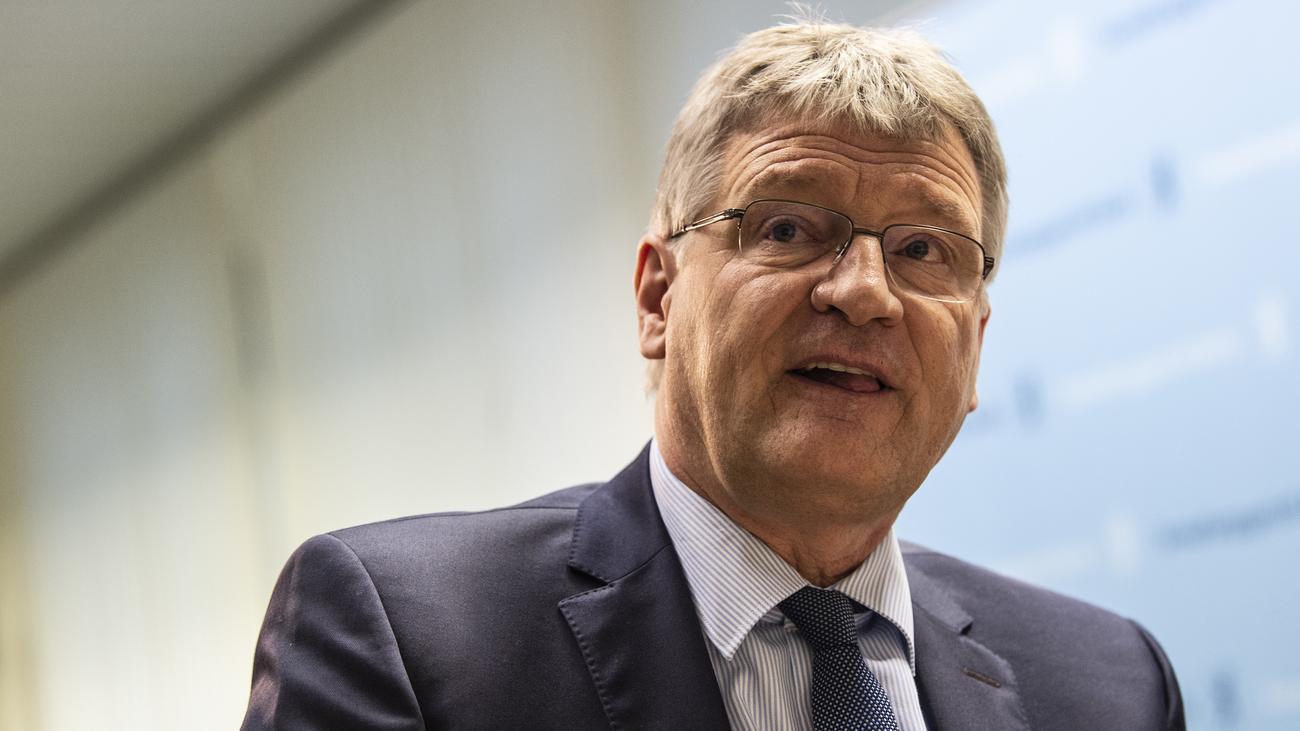 AfD: Jörg Meuthen nennt Vorstoß zur Spaltung einen Fehler