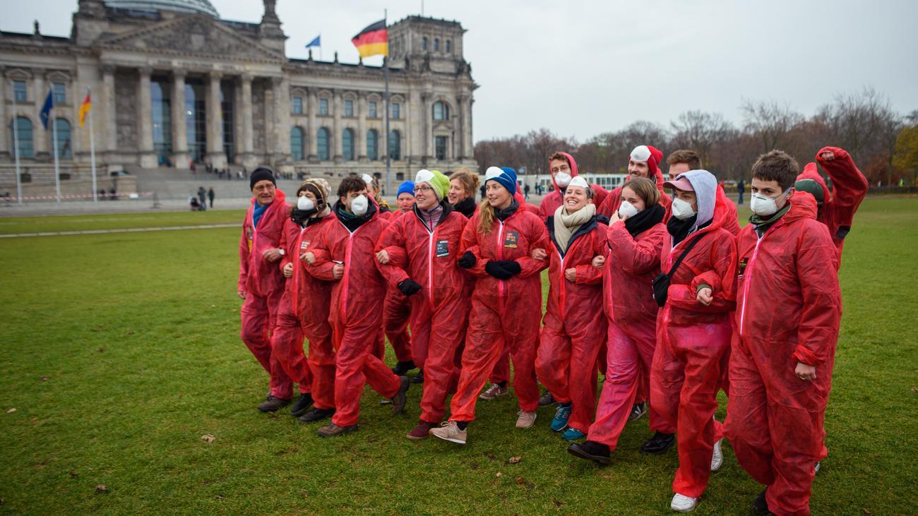Ende Gelände: Jugendorganisationen fordern Abschaffung des Verfassungsschutzes