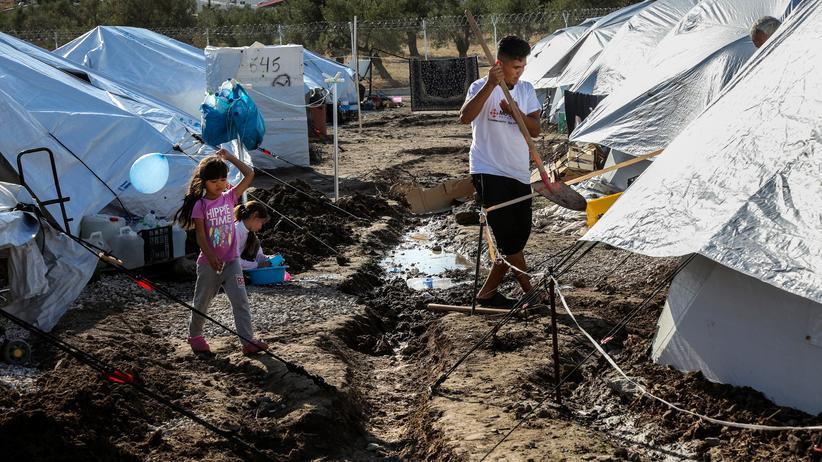 Flüchtlinge Horst