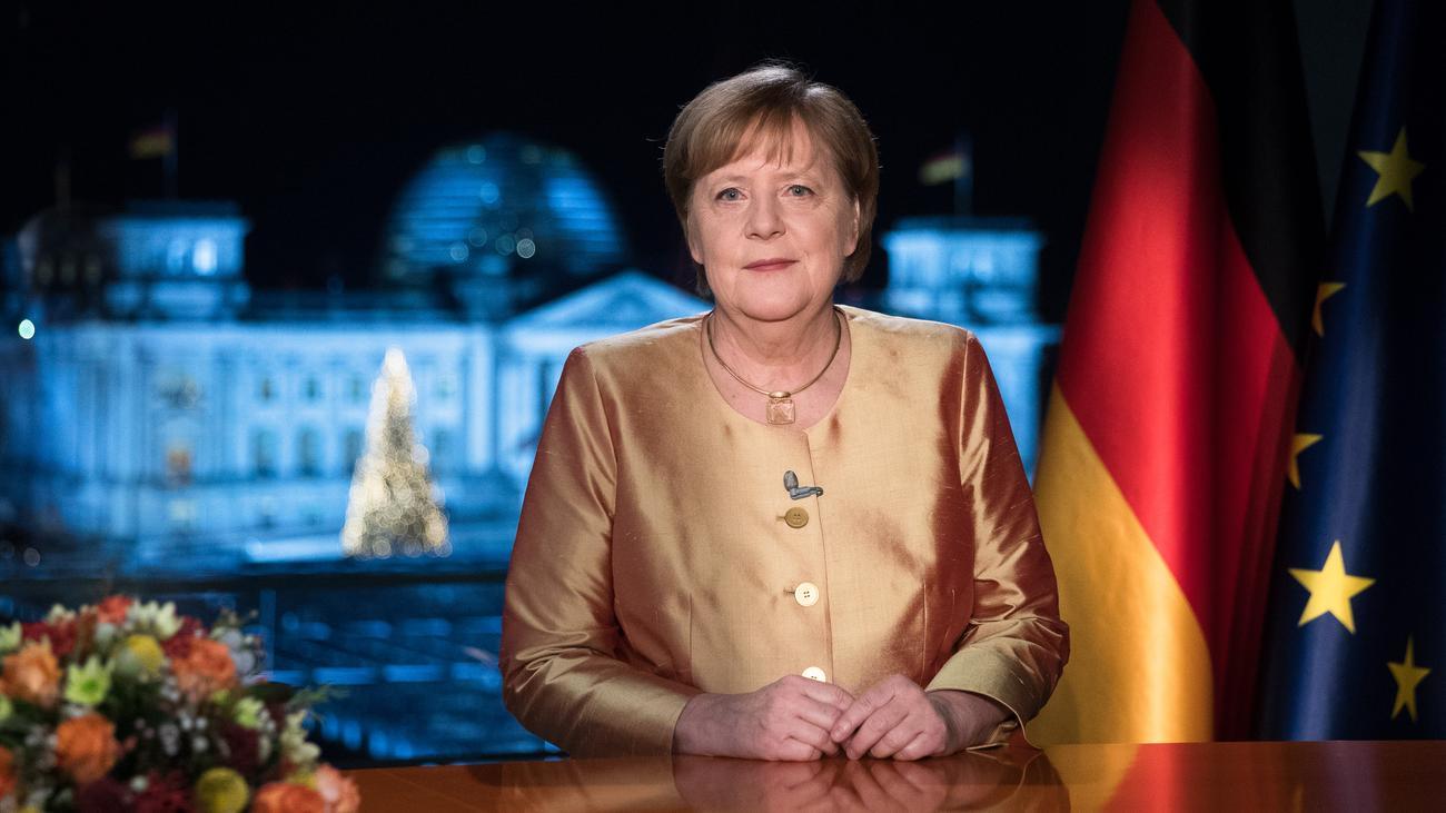 Merkels Neujahrsansprache