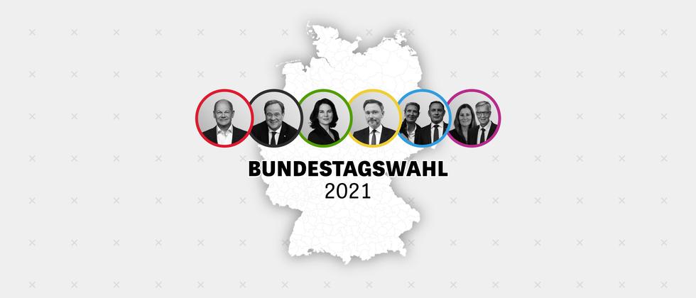 Wahlergebnisse: Alle Ergebnisse der Bundestagswahl 2021