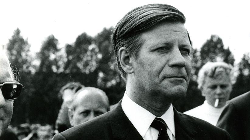 Helmut Schmidt: Mithelfen, dass der Frieden bleibt