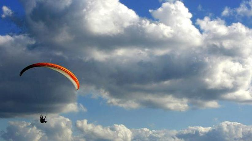 Paragliding: Paraglider in seinem Element