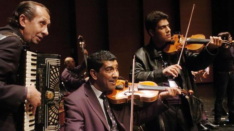 Rumänien: Musiker der Band Taraf de Haidouks