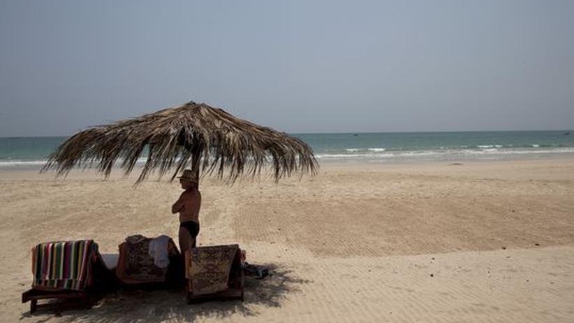 Streitgespräch: Entspannung pur am Strand von Nagapali in Myanmar