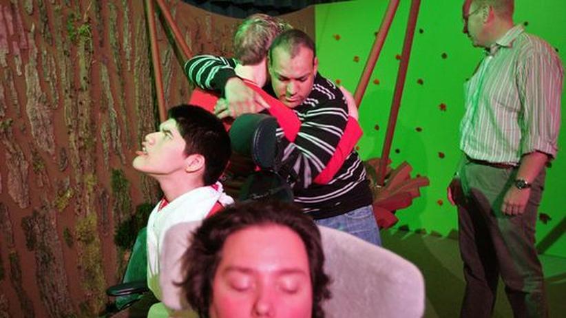 Leben mit Behinderung: Der Dschungel-Raum im Freizeitpark de Belevenis