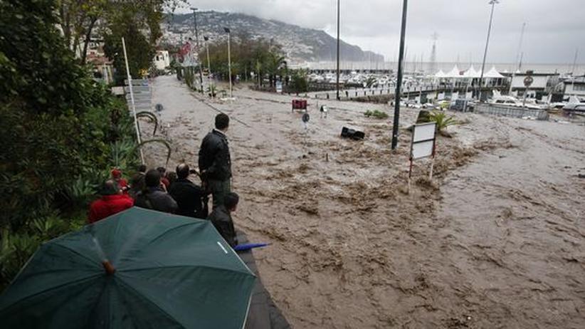 Starker Regen hatte zu den Überschwemmungen geführt