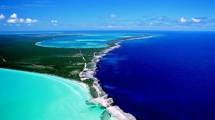 Das flache Wasser zwischen den Inseln verhalf den Bahamas zu ihrem Namen