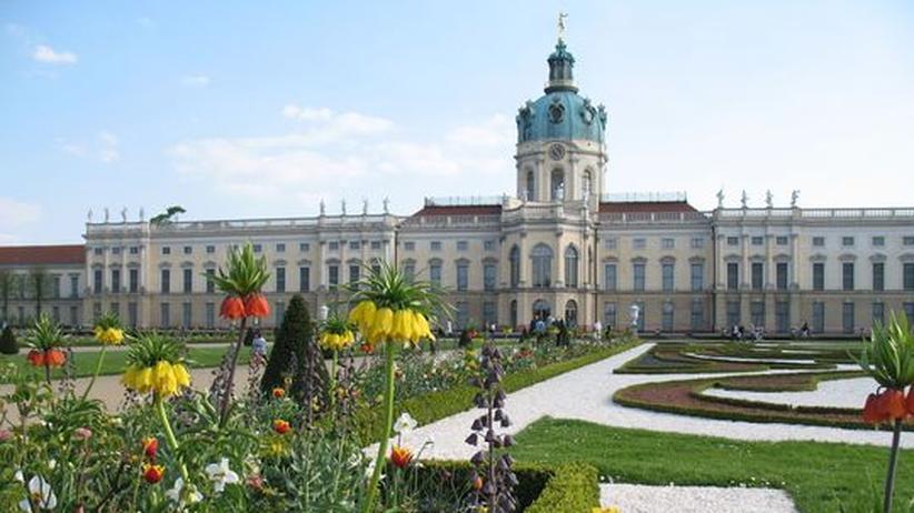 Nicht nur die Ausstellung, auch der Schlossgarten ist einen Besuch wert