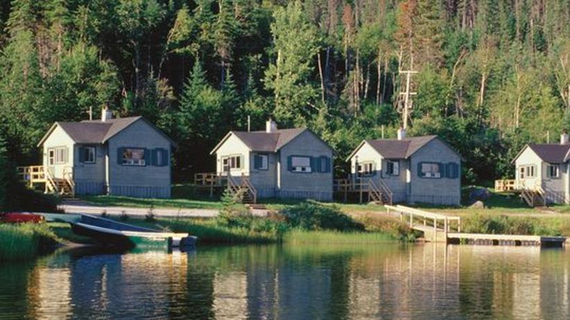 Ferienhäuser am Lac Saint-Jean