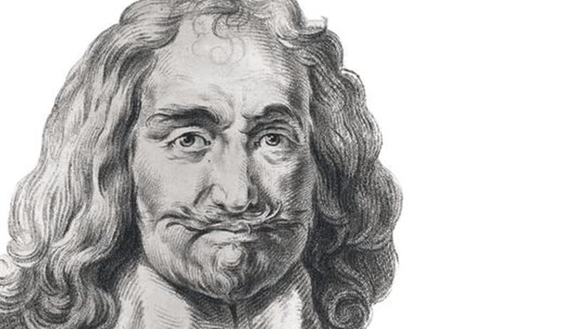 Der englische Mathematiker und Staatstheoretiker Thomas Hobbes