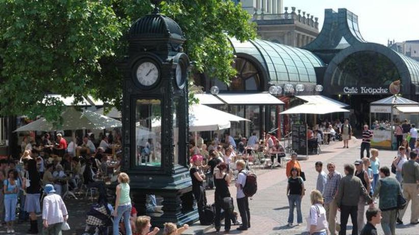 Hannovers Innenstadt im Sommer
