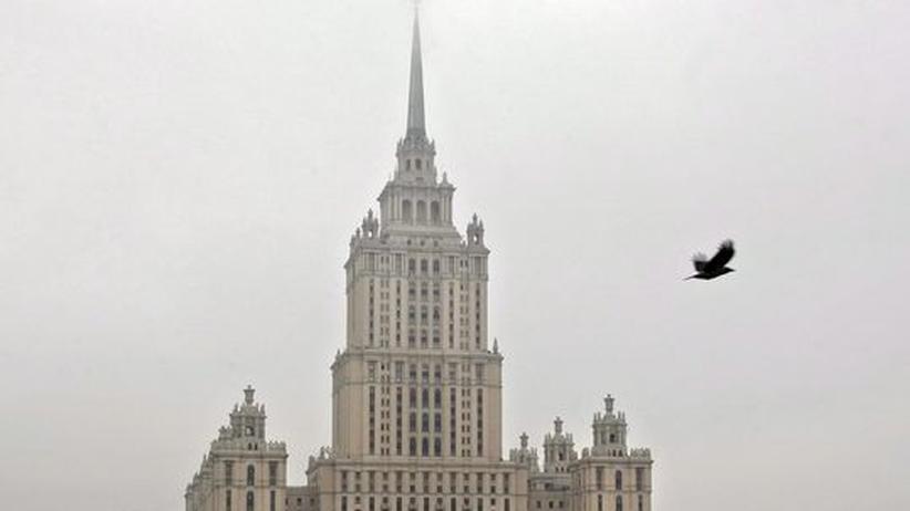 Das Hotel Ukraina ist ein Wahrzeichen der Stadt – und der Stalin-Ära