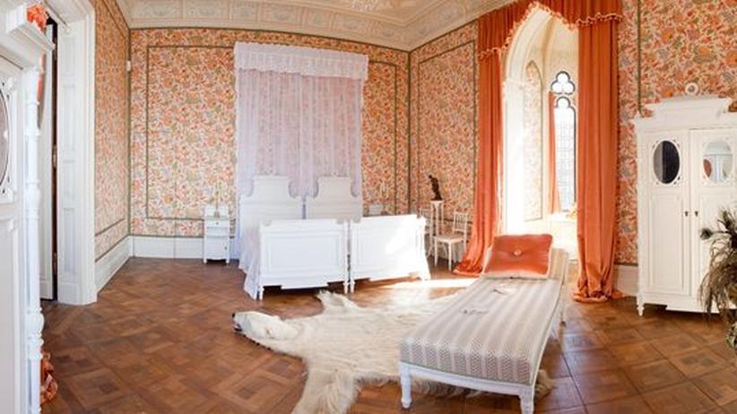 Auch die Schlafzimmer wurden renoviert
