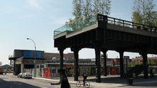 Statt der Hochbahn rauscht hier nur der Wind: der High Line Park in Manhattan