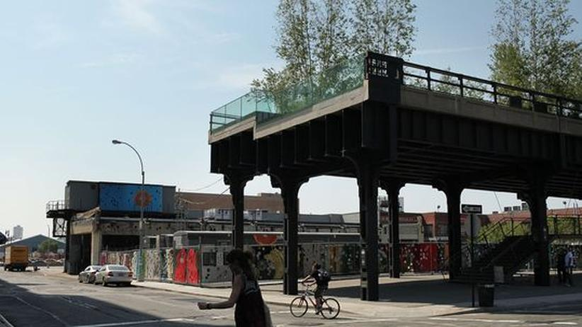 High Line Park: New Yorks grüner Laufsteg