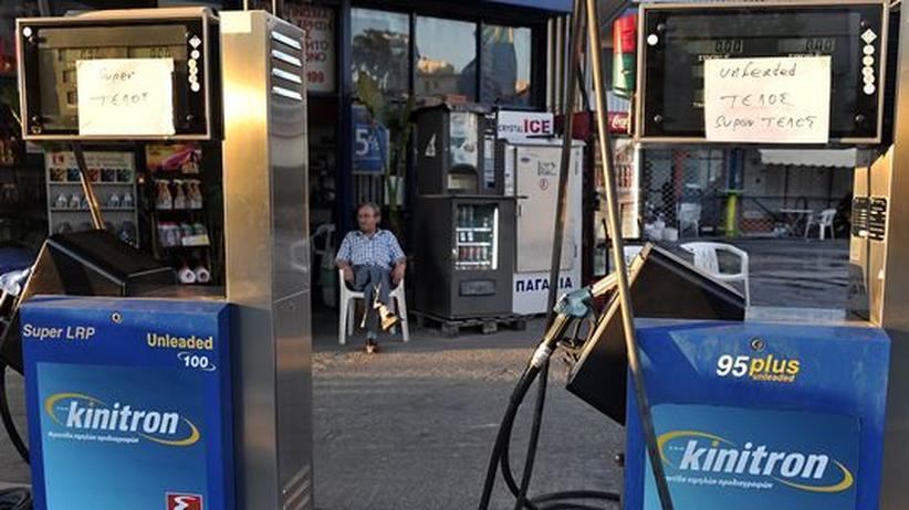 Tourismus: Wieder Sprit an griechischen Tankstellen