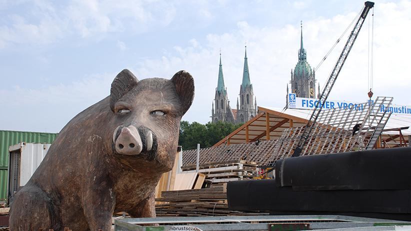 Oktoberfest Aufbau: O'gschraubt is!