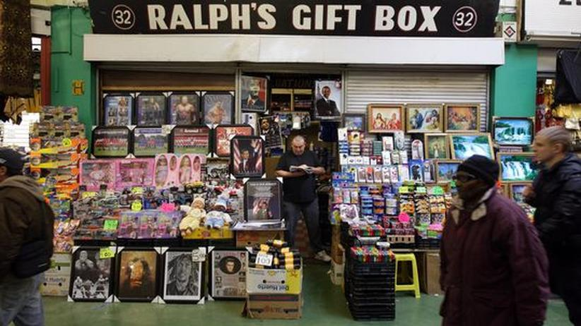 Ralph's Gift Box auf der Electric Avenue im Brixton Market