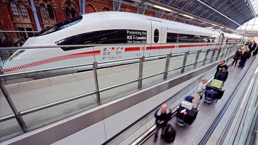 Deutsche Bahn: ICE passiert erstmals Eurotunnel