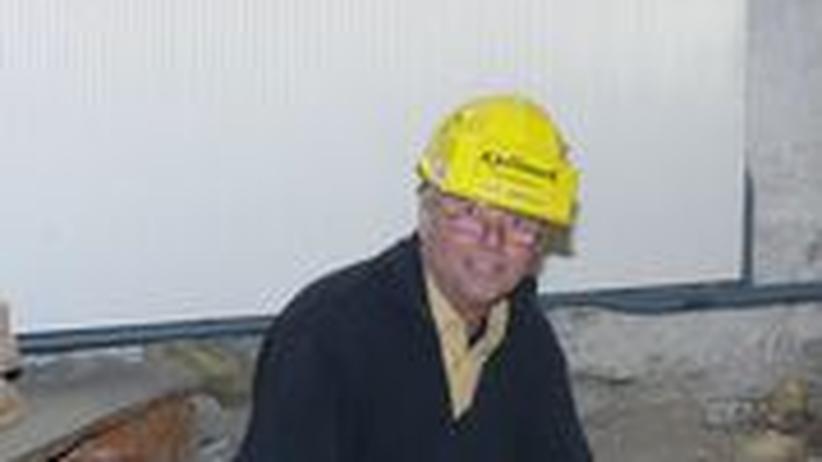 Der Bauingenieur Ole Jørgen Kjellmark