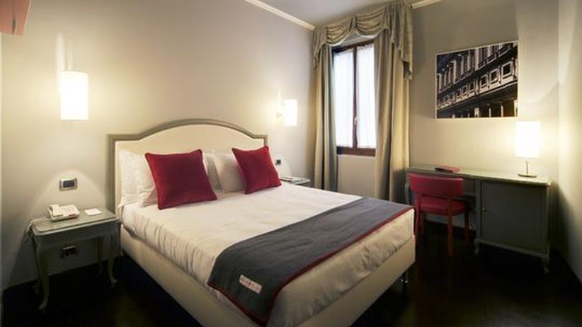 Ein Zimmer im Hotel Rosso 23