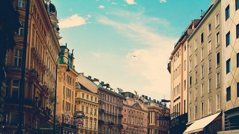 Die Innenstadt von Wien