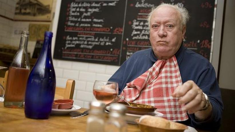 Wenn seine Frau nicht kocht, geht Monsieur Crozade in den Markthallen essen