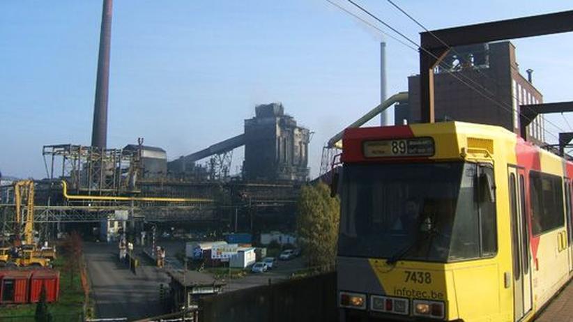 Früher florierte in Charleroi die Stahlindustrie