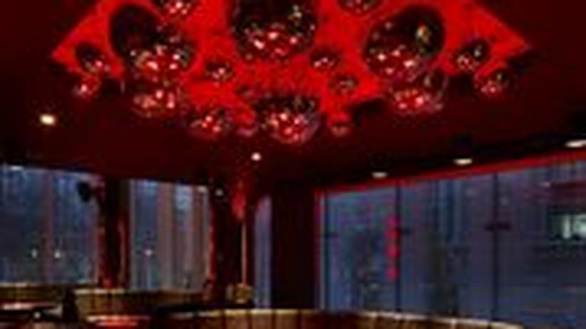 Der Nachtclub des Hotels.