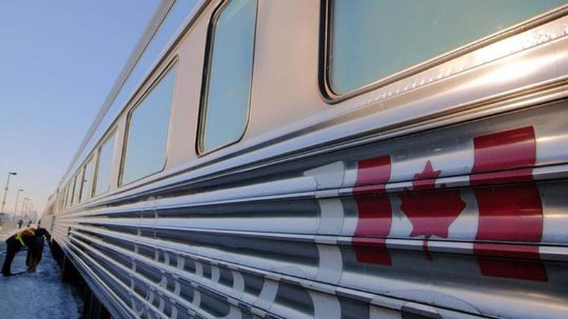 Kanada: Mit der Bahn zu König Gletscher