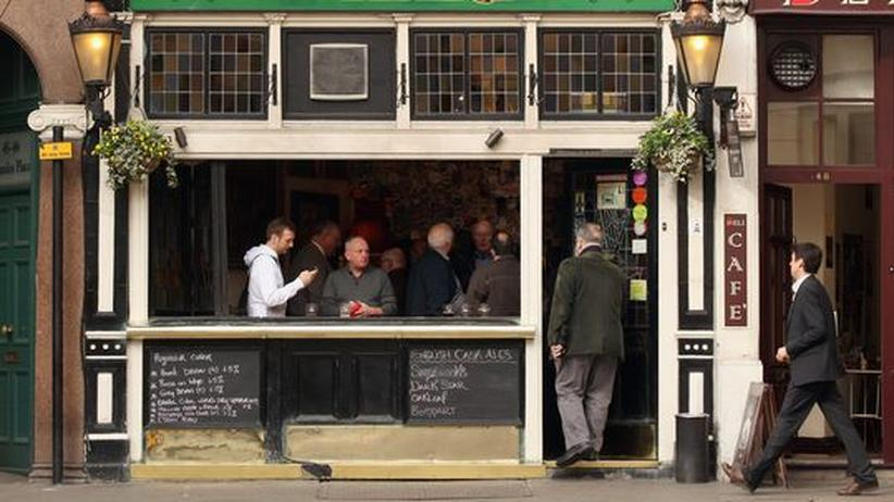 "Pubs in London: ""Ein Aroma von Feudel"""