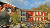 Das Bio-Hotel Gutshaus Stellhagen in Mecklenburg