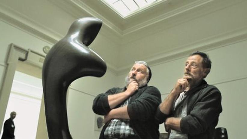 Hauptdarsteller der Kampagne: Die Naturburschen Sebi Küttel und Paul Betschart erleben die Abenteuer der Stadt.