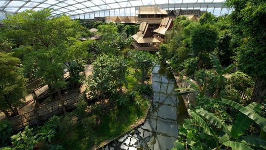 Fluss In Leipzig zoo leipzig eine tropenhalle drei kontinente zeit