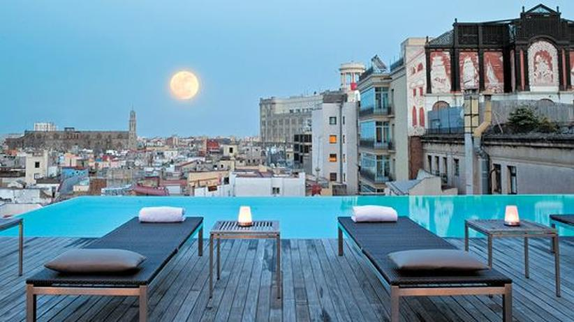 City Guide Barcelona: In Pool-Position