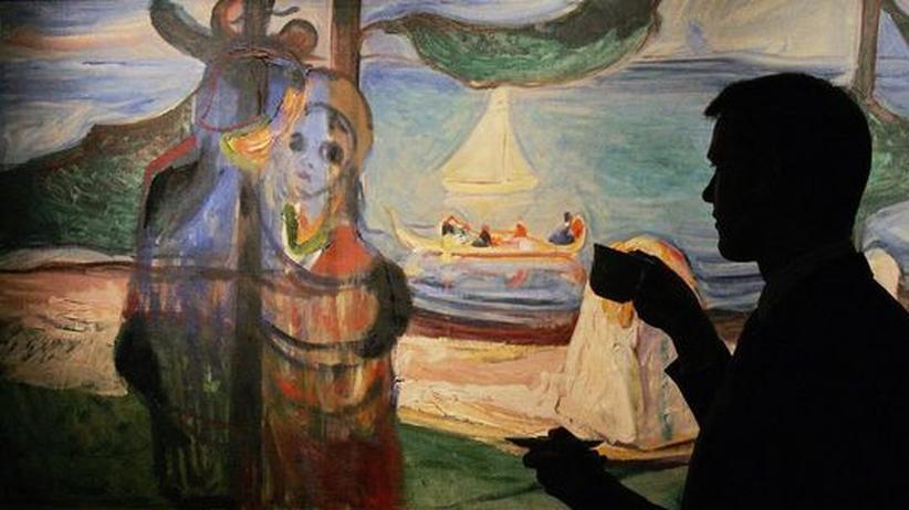 """Das Bild """"Sommertag"""" von Edvard Munch"""