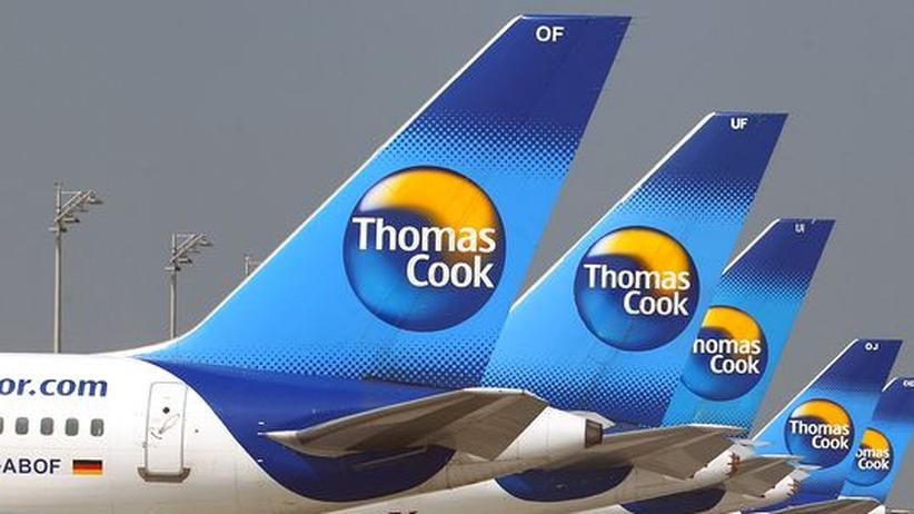 Tourismus: Aktien von Thomas Cook brechen ein