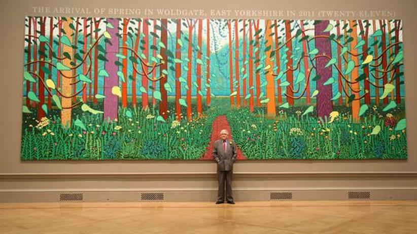 David Hockney: Zurück zu den Wurzeln