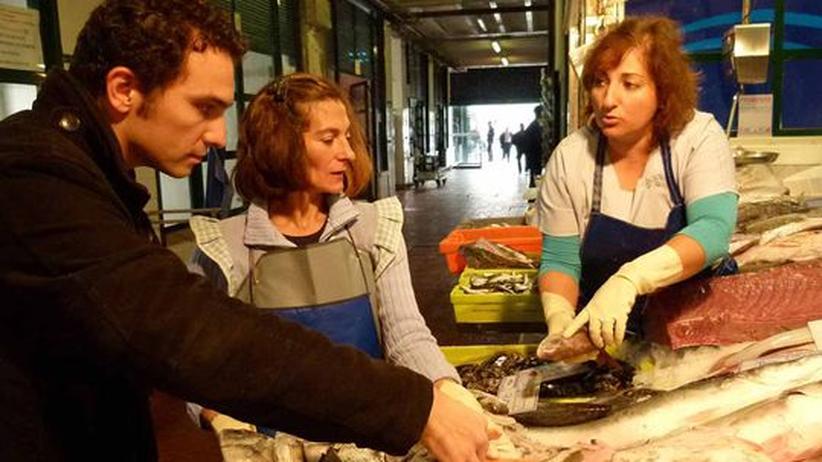 Markt in Lissabon: Das Ritual des Fischkaufs