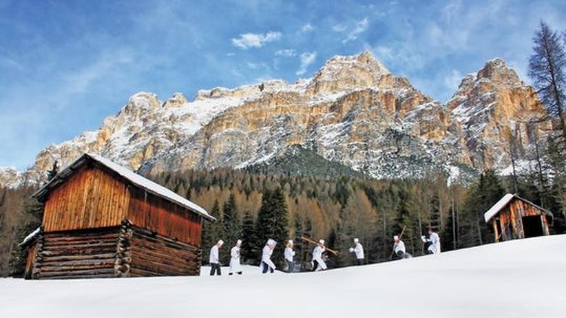 Südtirol: Haute Cuisine im Tiefschnee